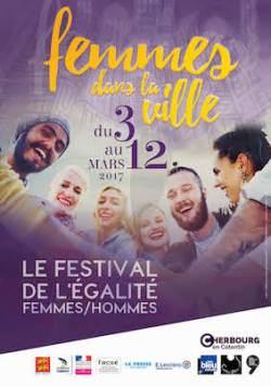 Affiche Festival Femmes dans la ville Cherbourg 2017